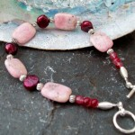 Rhodochrosite and Freshwater Pearls