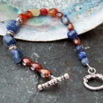 Sodalite and Coral Agate