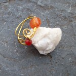 Coral Agate and Carnelian