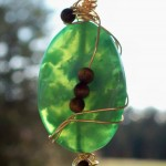 Green Agate and Tigers Eye