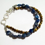 Blue Crazy Lace Agate and Tigers Eye