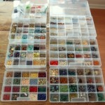 Gemstones...in fishing tackle boxes