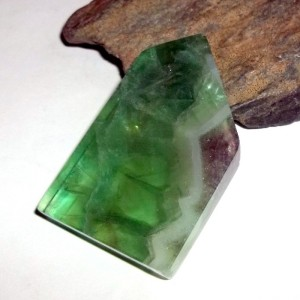 Fluorite Gemstone Slab from earthegy