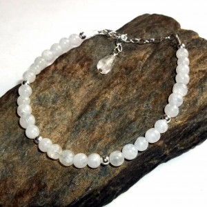 moonstone, bracelet, earthegy, gemstone