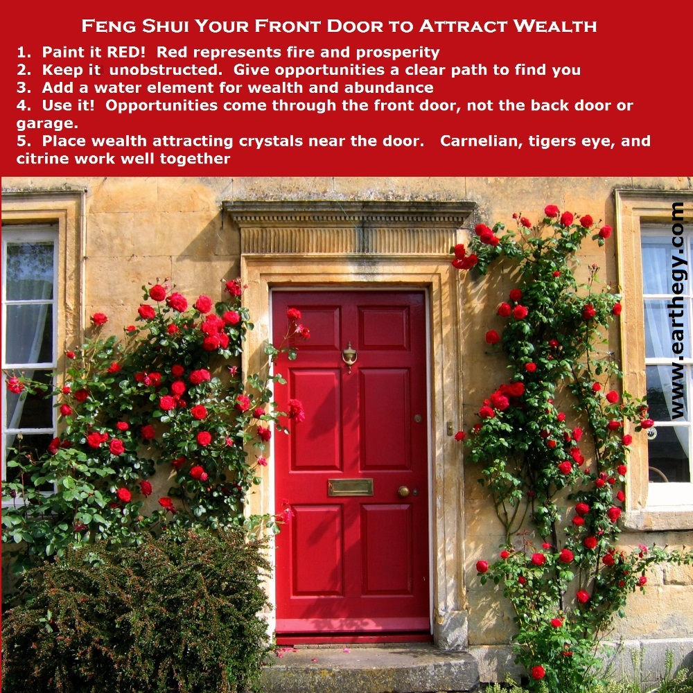 Earthegy blog archive feng shui tips for your front door for Feng shui garage