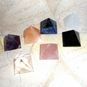 Gemstone Pyramids from earthegy