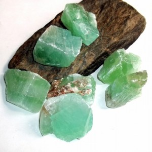 Green Calcite from earthegy